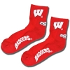 Donegal Bay Wisconsin Badgers Socks (Red)