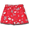 Boxercraft Wisconsin Flannel Boxers (Red) *