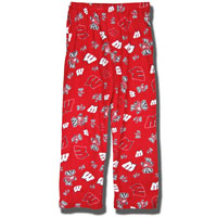 Boxercraft Wisconsin Flannel Pants (Red)