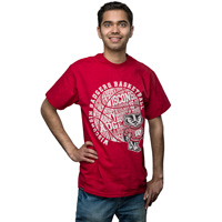 JanSport Basketball T-Shirt (Red)*