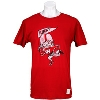 The Original Retro Brand Bucky Pennant T-Shirt (Dark Red)
