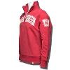 '47 Brand Wisconsin Badgers ¼ Zip Sweatshirt (Red) thumbnail