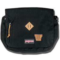 JanSport Crosstalk Messenger Bag (Black)