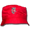 Logofit Infant/Toddler Bucky Badger Bucket Hat (Red)