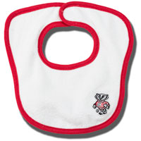 Creative Knitwear Bucky Badger Juice Bib