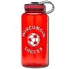 Spirit Products Sport Nalgene - Soccer (Red)