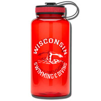 Spirit Products Sport Nalgene Swimming and Diving (Red)