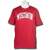Top Promotions Tall Wisconsin T-Shirt (Cardinal)