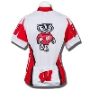 Adrenaline Women's Wisconsin Bike Jersey (White/Red) thumbnail
