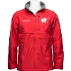 Columbia Wisconsin Badgers Ascender Softshell Jacket (Red) *