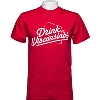 Drink Wisconsinbly T-Shirt (Red)
