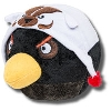 "Fabrique Angry Bird ""Black Bird"" with Bucky Badger Hat"