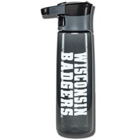 Contigo Autoseal Wisconsin Badgers Water Bottle (Black)