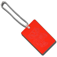 CDI Bucky Bag Tag (Red) *