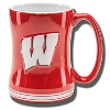 Boelter Brands Wisconsin Motion W Relief Mug (Red)