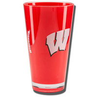 Boelter Brands Wisconsin Insulated Plastic Pint Glass