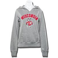League Women's Hooded Sweatshirt (Gray) *
