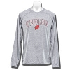 Champion Wisconsin Long Sleeve Shirt (Gray) *