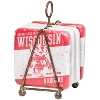 Legacy Wisconsin Badgers Coaster Set And Stand (Red/White) *
