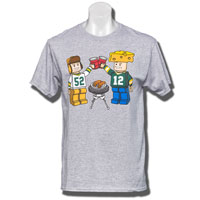 Top Promotions Lego Packer T-Shirt (Gray)
