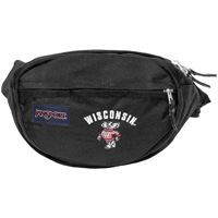 JanSport Wisconsin Bucky Badger Fanny Pack (Black)