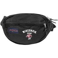 JanSport Wisconsin Bucky Badger Fanny Pack (Black)
