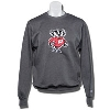 Champion Bucky Badger Crew Neck Sweatshirt (Charcoal)
