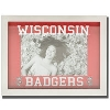 Neil Enterprises, Inc. Wisconsin Shadow Box Frame (White)