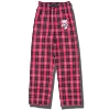 Boxercraft Youth Bucky Badger Flannel Pants (Red/Black)