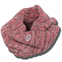 The Game Multi Color Infinity Scarf (Red/Black/White)*