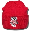 Carhartt Knit Cuffed Bucky Badger Hat (Red)