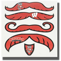 CDI Corp Temporary Wisconsin Skin Sticker Mustaches*