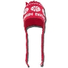 Vermont Originals Knit Flap Hat-Basketball (Red)