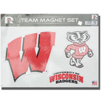 Rico Industries, Inc. Wisconsin Bling Magnet Sheet