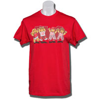 Top Promotions Lego Badger Fan T-Shirt (Red)