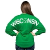 Spirit Jersey Women's Long Sleeve T-Shirt (Kelly Green) * thumbnail