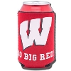 Gift Pro Inc. Wisconsin Badgers Foam Coozie (Red)