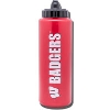 Image for Fanatic Cards Wisconsin Sport Water Bottle (Red)