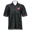 Image for Antigua Wisconsin Badgers Illusion Polo (Black)