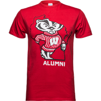 Cover Image For Top Promotions State Alumni Wisconsin T-Shirt (Red)