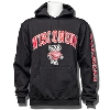 Image for Champion Wisconsin Bucky Hooded Sweatshirt (Black)