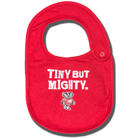 Cover Image For College Kids Bucky Badger Bib (Red)