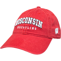 Image For Legacy Adjustable Sport W Hat- Wrestling (Red)