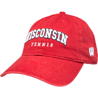 Cover Image For Legacy Wisconsin Sport Hat- Tennis (Red)