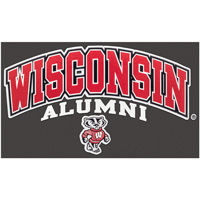 Image For CDI Corp Wisconsin Major Decal-Alumni