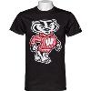 Image for Blue 84 Bucky Badger T-Shirt (Black)