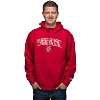 Image for Blue 84 Wisconsin Bucky Badger Hooded Sweatshirt (Red)