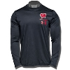 Image for Under Armour Wisconsin W Tech Long Sleeve (Black) 3X*