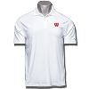 Image for Under Armour Wisconsin Motion W Polo (White) *