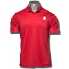 Image for Under Armour Wisconsin Motion W Polo (Red) *